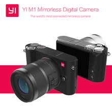 Free EMS Shipping International Version Original YI M1 Mirrorless Digital Camera With YI 12-40mm F3.5-5.6 Lens/42.5mm F1.8 Lens