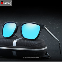 Baolang Brand Polarized Sunglasses Men Colorful Glasses High Quality Spectacles Fashion Sunglasses Women Metal Glasses Wholesale