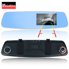 dual lens car camera rearview mirror auto dvrs cars dvr recorder video registrator full hd1080p night vision camcorder dash cam