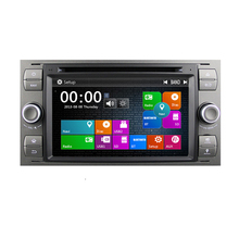 2 Din 7 Inch In Dash Wince Car DVD Player For Ford/Mondeo/Focus/Transit/C-MAX With 3G GPS Navigation Radio FM
