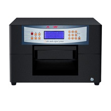 UV white ink printer mini A4 Flatbed printer for CD ,DVD card