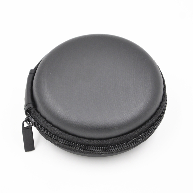 Easy Earphone Accessories Cheap Black Case Bag,Earphone Earbuds Collect Box,Coin Case Bag<br><br>Aliexpress