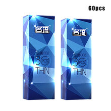 Buy MingLiu 60pcs Brand Quality Ultra Super Thin Condom 002 Penis Sleeve Intimate Condoms Man Condom Adult Product Sex Toy