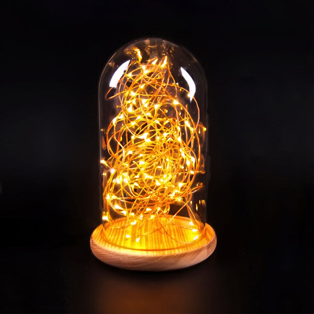 Modern Firefly LED Desk Lamps Northern Europe Warm Loft Glass LED Firework Table Lamp Lightings For Indoor Decoration<br><br>Aliexpress
