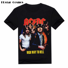 PLstar Cosmos Hipster New Camisetas AC/DC Band Rock 3D T Shirt Mens T-shirts acdc Print Casual Tshirt O Neck Hip Hop Plus 5XL