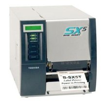 TEC B-SX5T (300dpi) Barcode label thermal Transfer Printer machine ribbon printer
