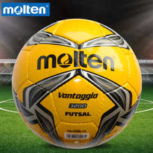 Original Molten F9V3200 Size 4 PU Match Ball Professional football soccer goal balls of football ball balon bola de futbol(China)
