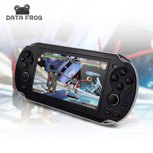 4.3'' Portable Handheld Game Players mp4 MP5 8GB Support For Camera Video E-book GBA Games TF Card with AV Cable Headset