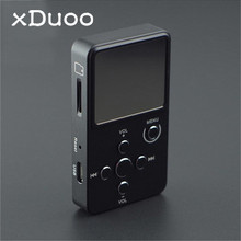 XDUOO X2 Professional Audio Music Player MP3 Lossless HIFI Music MP3 With 0.96 Inch OLED Screen 32GB Support MP3 WMA APE FLAC(China)