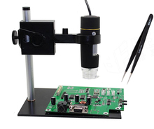 1000X electronic microscope digital microscope usb professional portable mount+ tweezers