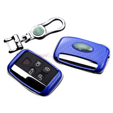 ABS & METAL Fashion Car Key Holder Fob Case Chain Bag 1pcs for Land Rover Range Rover Sport 2009-2016(China)