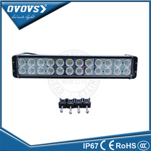Factory directly sell 20inch 240w auto led lighting bar offroad spot beam 12 24v for atv boat truck suv