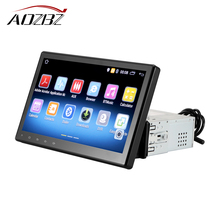 AOZBZ 10.1 inch GPS Bluetooth Navigation Car Stereo Player Fully Capacitive Large Touch Screen with Reversing Camera(China)