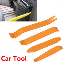 Auto Car Radio Panel Door Clip Panel Trim Dash Audio Removal Installer Pry Repair Tool set 4pcs Portable Practical
