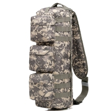 Outdoor Sports Assault Sling Bag Tactical Hunting Camping Molle Backpack Hiking Shoulder Bag Messenger