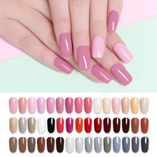 LILYCUTE Nail Art Gel 5 ml Pure Color UV LED Gel esmalte de uñas larga duración Macaron Soak off barniz gel Lacquer(China)
