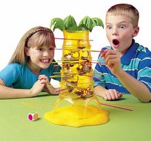 Desktop Game Monkey Tree parent child interaction board game benefit intelligence kids toy special offer