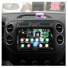 2GB New Latest 2 din 9'' Android 5.1 Car GPS Stereo Radio Tape Recorder Support Steering wheel for Skoda VW GOLF Golf POLO Jetta