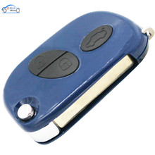 3 PCS/LOT, 3 Buttons Smart Flip Folding Key Blank Fob Key Case Remote Shell Cover for Maserati GRAN TURISMO QUATTROPORTE