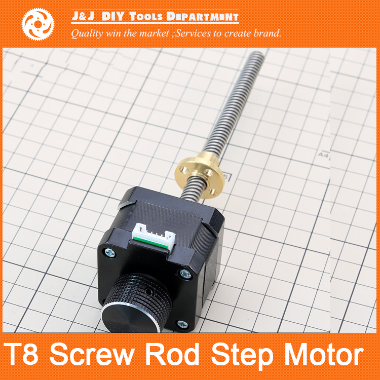 New ! With handwheel, 120mm T type screw, 42 stepper motor 2 phase 4 wire<br><br>Aliexpress
