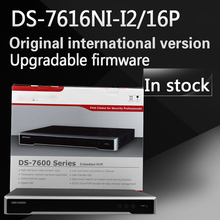 Buy stock Free DS-7616NI-I2/16P English version 16ch NVR 16POE ports 2SATA 12 Megapixels resolution recording for $358.00 in AliExpress store