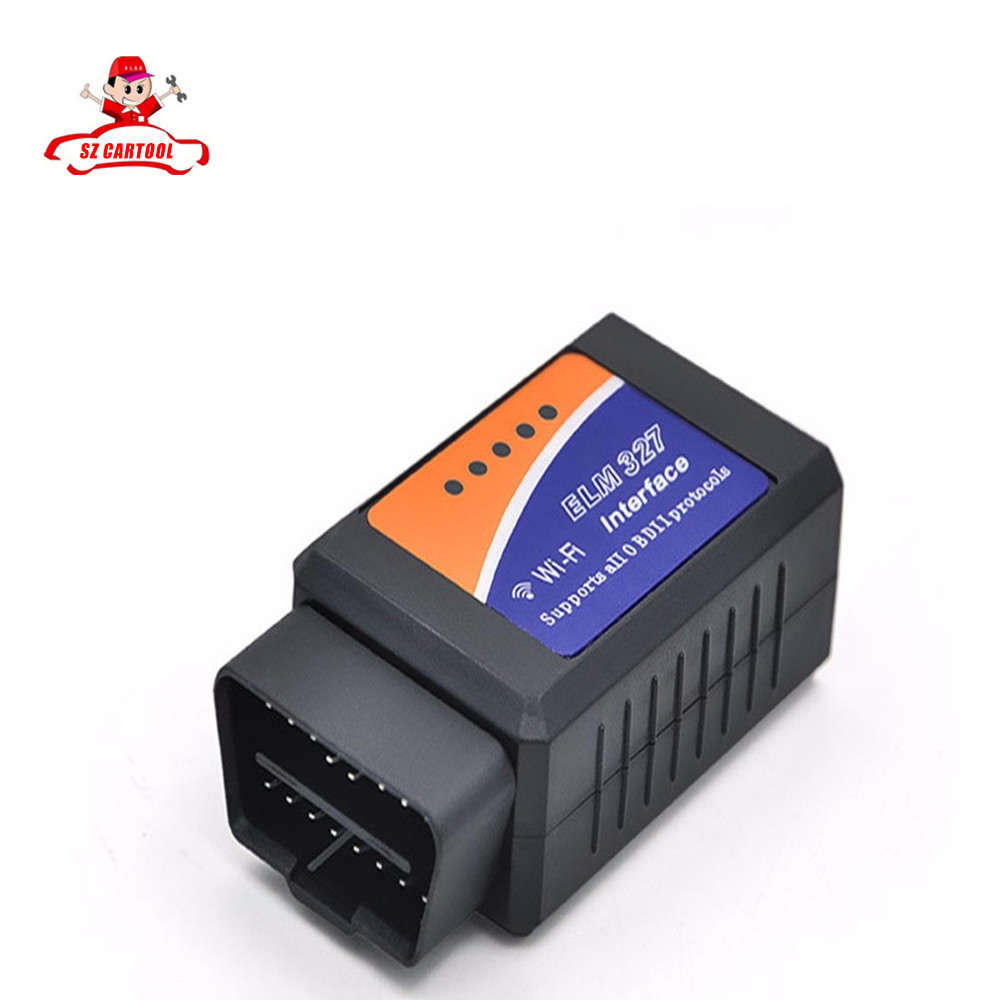 2016 best ELM327 Wifi Scanner Auto OBD2 Diagnostic Tool ELM 327 WIFI OBDII Scanner V 1.5 Wireless Android / IOS