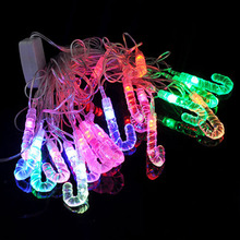 4M 20 Led umbrella christmas tree festival new year Christmas pendant frop ornament DIY decorative light US/EU Plug AC110V-220V(China)