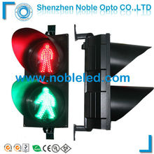 300mm Red green go-stop walkman traffic light for intersection safety