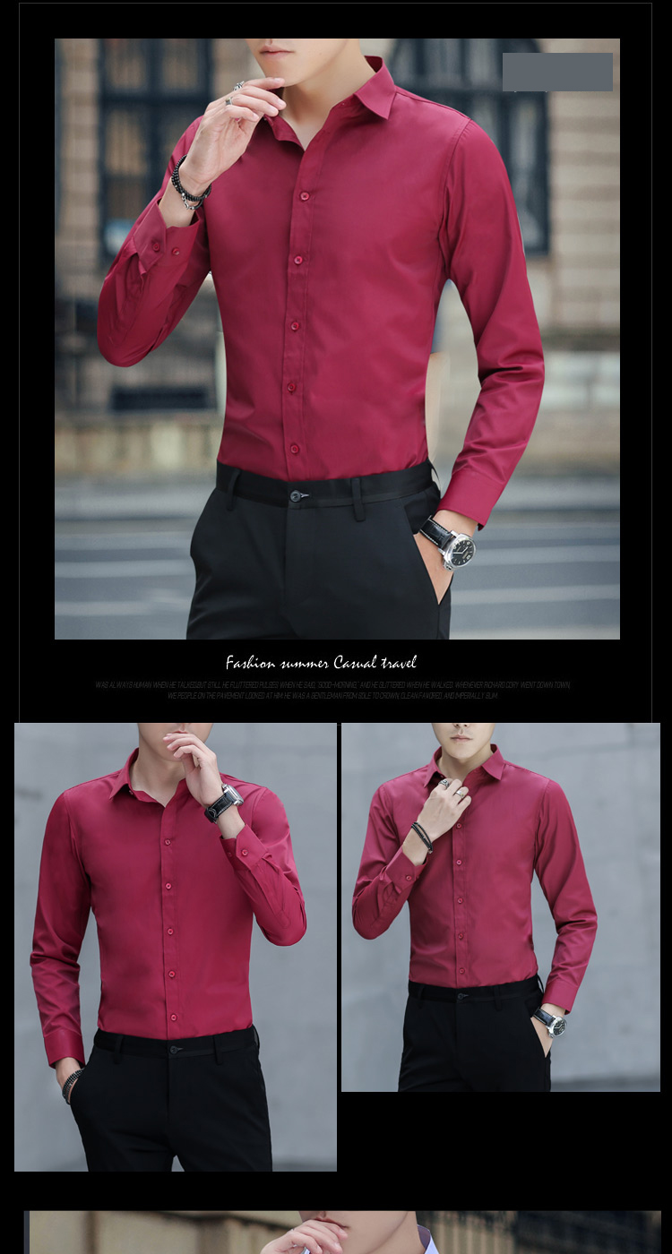 Brand New Cotton Breathable Business Casual shirts Fashion Short Sleeve Male Tops Tee Fashion Stand Down Collar shirt ZT024 28