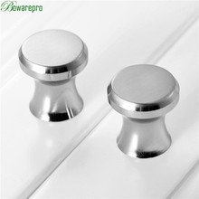 bowarepro Handle Mini Jewelry Box Knobs and Pulls Drawer Cupboard Cabinet Pull Handles Drawer Knob Door Furniture Hardware 2PCS(China)
