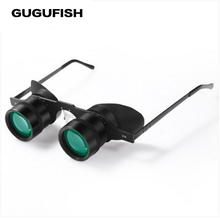 GUGUFISH Portable 10x 34 Glasses Fishing high definition Binoculars Hiking Concert Football Game Outdoor Spyglass(China)