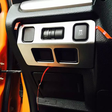 Left-driving China Manufacture ABS Chrome Headlight Switch Trim For Subaru For XV 2012-2016 Car Accessories