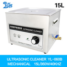 Digital Ultrasonic Cleaner Bath 15L engine carbon Automatic Car Parts Golf Club Ball Glassware Heater Ultrasound Washing(China)