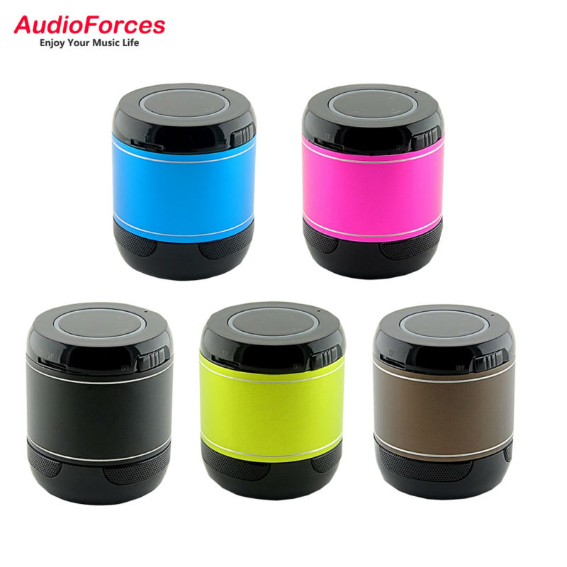 AudioForces ADS72B Wireless Mini Bluetooth 2.1 + EDR Speaker Hands-free portable Subwoofer Speaker Music Player(China)