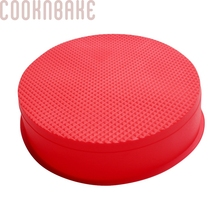 COOKNBAKE DIY Silicone Cake Molds Big Round Cake Mold Easy Demoulding CDSM-123(China)