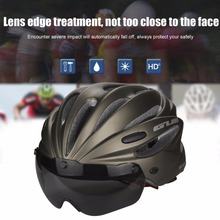 GUB Integrally EPS Lens Bicycle Helmet with Goggles Two In One Ultralight Mountain Bike Head Wear Bike Accessories New Style