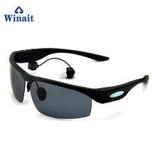 Winait Wireless BT Bluetooth sunglasses, hands free stereo MP3 player free shipping