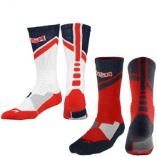 USA American Dream Team 2nd Generation Reinforcement Elite Basketball Socks Long Sleeve Bottom Thickening Sports Socks