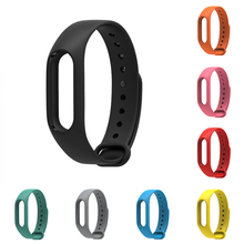 Replace Strap For Xiaomi Mi Band 2 Wristband Wearable Mijobs Wrist Strap Accessories band belt miband 2 Strap(China)