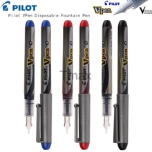 3Pcs/Lot PILOT SVP-4M Disposable Fountain pen M Nib JAPAN Writing Supplies Office& School Supplies wholesale(China)