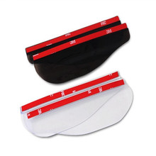 Universal Car Styling 2 Pcs Super Hot TYPE-R Car Rearview Mirror Rain Eyebrow Storm Apron AE-030  wholesale A2000