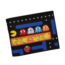 Pixels Pacman Wallet 3D Embossing Short Purse For Student Boy Girls Slim Silicone Wallet Game Cartoon Designer Wallet billeteras