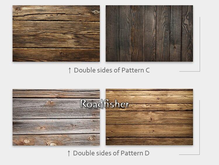 Double side wooden backdrop 3