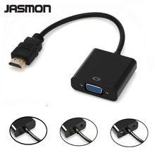 HDMI TO VGA  Adapter converter 1080P Male to Female Auido power port optional For PC Laptop DVD HDTV