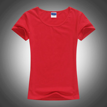 Solid color women's T-shirts, T-Shirts, wholesale shirts, short sleeved work clothes, advertising shirts, logo