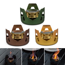 Hot Selling Outdoor Picnic Stove New Mini Ultra-light Spirit Combustor Camping Furnace Camping Portable Folding Alcohol Stove