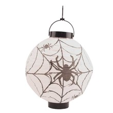 6Pcs/Set Different Pattern Halloween Decorations LED Pumpkins Lantern Jack Skeletons Spiders Bats Haunted Hot Sales FreeShipping