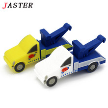 trailer truck flash drive creative tow car pendrive pen drive 4gb 8gb 16gb 32gb transfer car memory stick u disk gift toy drive
