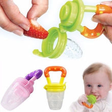Feeding Pacifier Baby Fresh Food Fruits Soup Feeder Dummy Soother Weaning Nipple S SIZE