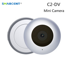 C2 DV Mini Camera HD 1080P Round Micro Cam Motion Detection Sensor Mini Kamera with Magnetic Clip Outdoor Video Record Mini DV(China)